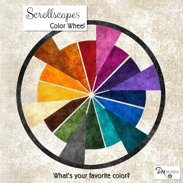 Scrollscape Color Wheel