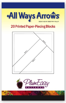 20 PRINTED PAPER PIECING BLOCKS