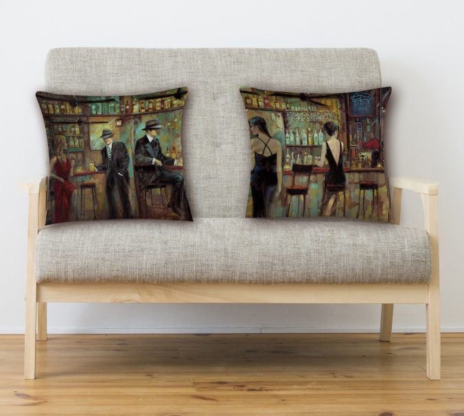BarPillowLoveseat