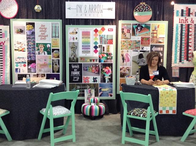 Sarah I&A booth
